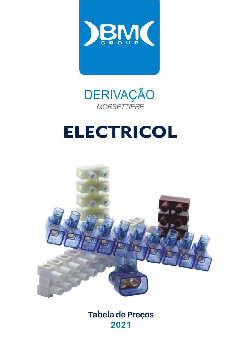 Catálogo Derivação BM Group. Ligações de Material elétrico.