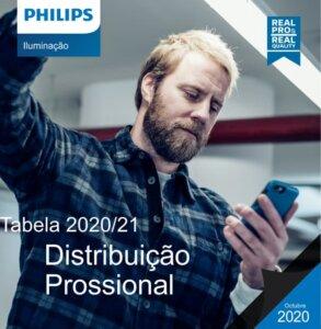 Tabela de Distribuição Profissional Philips 2020 - 2021