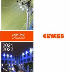 Gewiss Lighting 2021 - 2022. Catálogo Iluminação led
