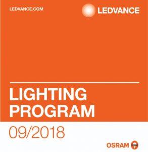 Catálogo Ledvance Osram para 2018