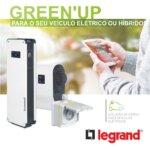 Green Up Legrand. Soluções de carga para veículos elétricos.