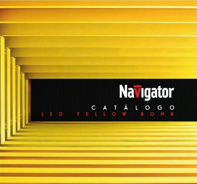 Navigator Catálogo de iluminação 2021. Lâmpadas led. Projetores led. Luminárias led. Campânulas led.