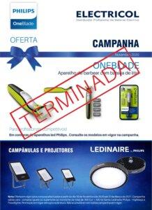 Philips Iluminação. Campanha de oferta Philips One Blade